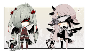 [CLOSED] ADOPT AUCTION 197 - Blind Lace by Piffi-adoptables
