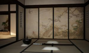 Japanese room 2 by 16fingers