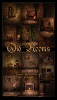 Old Rooms Backgrounds by moonchild-ljilja
