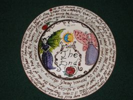 Fairy Tale Plates- The Sleeping Beauty (Back) by Gummibearboy