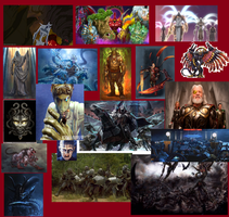 Social Wars/Empires Deities and Monsters by CrazyGamerDragon64