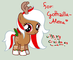 Christmas gift for alena by Maniactheleader