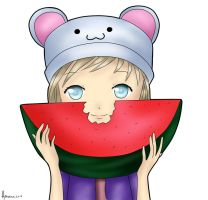 Water Melon by NorHay