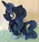 Filly Princess Luna plushie by PlushieScraleos