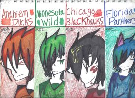 Hockey Bookmarks Page 1 by ukesemeX3