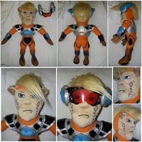 Ace Hardlight Plush by S2Plushies