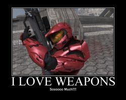 I Love Weapons by Ozone51
