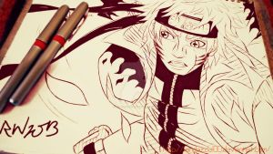 Young Brave Warrior- Uzumaki Naruto by Randazzle100