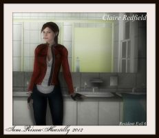 RE6 Claire Redfield by IamRinoaHeartilly
