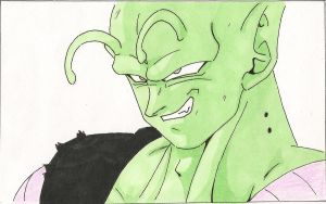 Black water mist Piccolo by gensomaden-saihumis