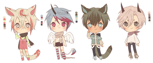 Wolphfe  Base Adopts [ 8 USD each] by Koujashi