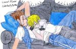 Demy and Roxas Naptime by AxelIsMyOther