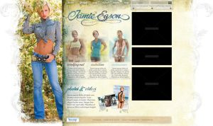 Jamie Eason Website Design by juannoguerol