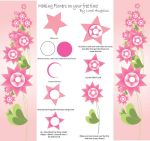 Tutorial on Star Flowers by LadyAngelus