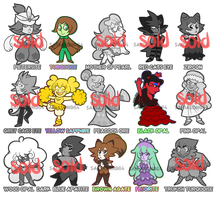 Chibi Gem Pokemon Adopts: 5/15 OPENED by sariasong64