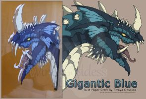 Gigantic Blue by StrayaObscura