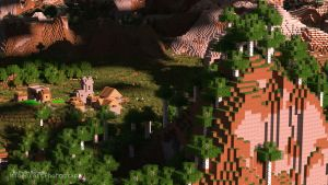 Minecraft | Birch Hill | Wallpaper (UHD) by MinecraftPhotography