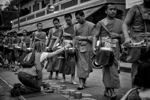 Alms Giving by DrewHopper