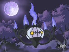 Chandelure by WhiteOrchid14