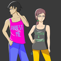 DTB: DUMB SHIRTS by lolgirl607