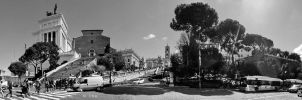 Capitoline Hill panorama by crh