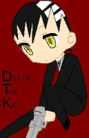 Death The Kid Chibi by Puffypaw