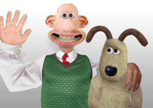 Wallace and Gromit Real by Einah9