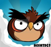 Angry Birds - Owl by agentdc7