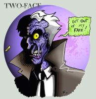 Two-Face by Boredman