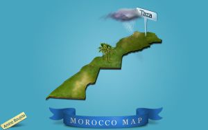Morocco Map by Aminebjd