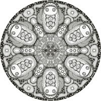 Mandala drawing 7 by Mandala-Jim