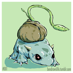 Bulbasaur by bensigas