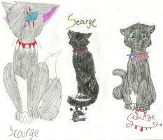 The Three Scourges by maracat0901