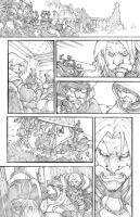 WoW Curse of the Worgen 5 pg14 by LudoLullabi