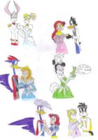 LU Couples as Disney Couples by KessieLou