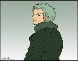 Zoro coloring, Unwanted by AnnaHiwatari
