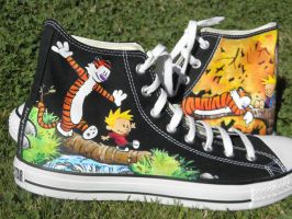 FatSheep - Calvin and Hobbes for Peter by Squadallama