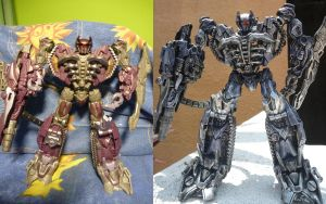 DOTM Voyager Shockwave Custom Repaint by Kurenai-Misuzu