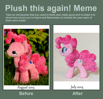 Plush This Again - Pinkie Pie by tiny-tea-party