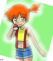 Kanto Misty by Endless-Mittens
