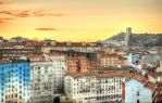 Bilbao Sunset From Hotel by Sixo
