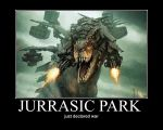 Jurrasic Park by PsychosisEvermore