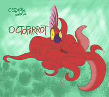 Octoparrot by qwertypictures