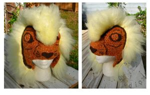 Simba Broadway Hat by TheCrochetDragon