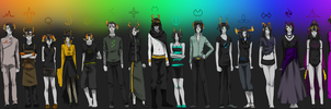 Fantroll Lineup by ChronicFolly