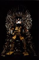Hunter On The Iron Throne by PedroTpredator