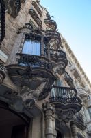 Barcelona Architecture-8 by RowyeStock