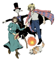 Howl's Moving Castle by DoodleBozo