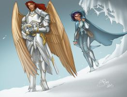Valkur and Yukona Color by Thrythlind