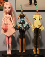 Monster High Customs WIP2 by rainbow1977